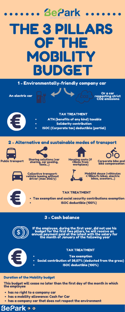 Pillars of the mobility budget