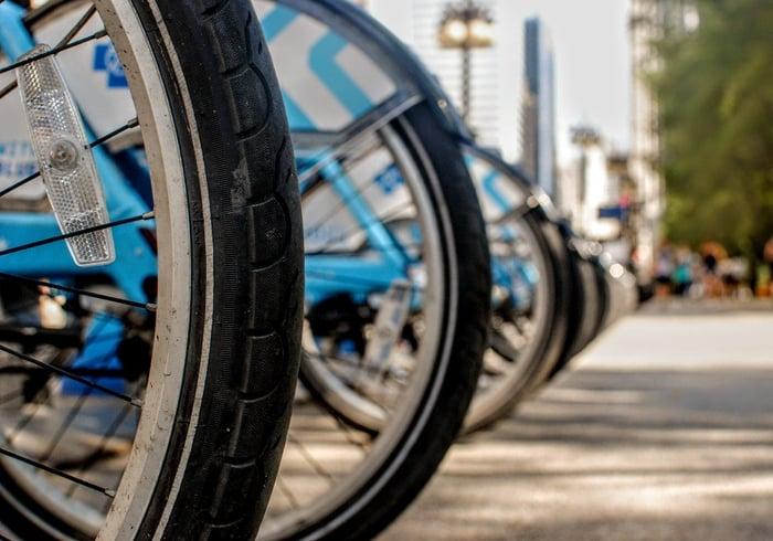 Promote bike mobility pan company